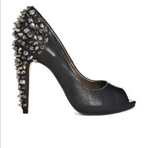Sam Edelman Lorissa leather spiked heel sz 7.5